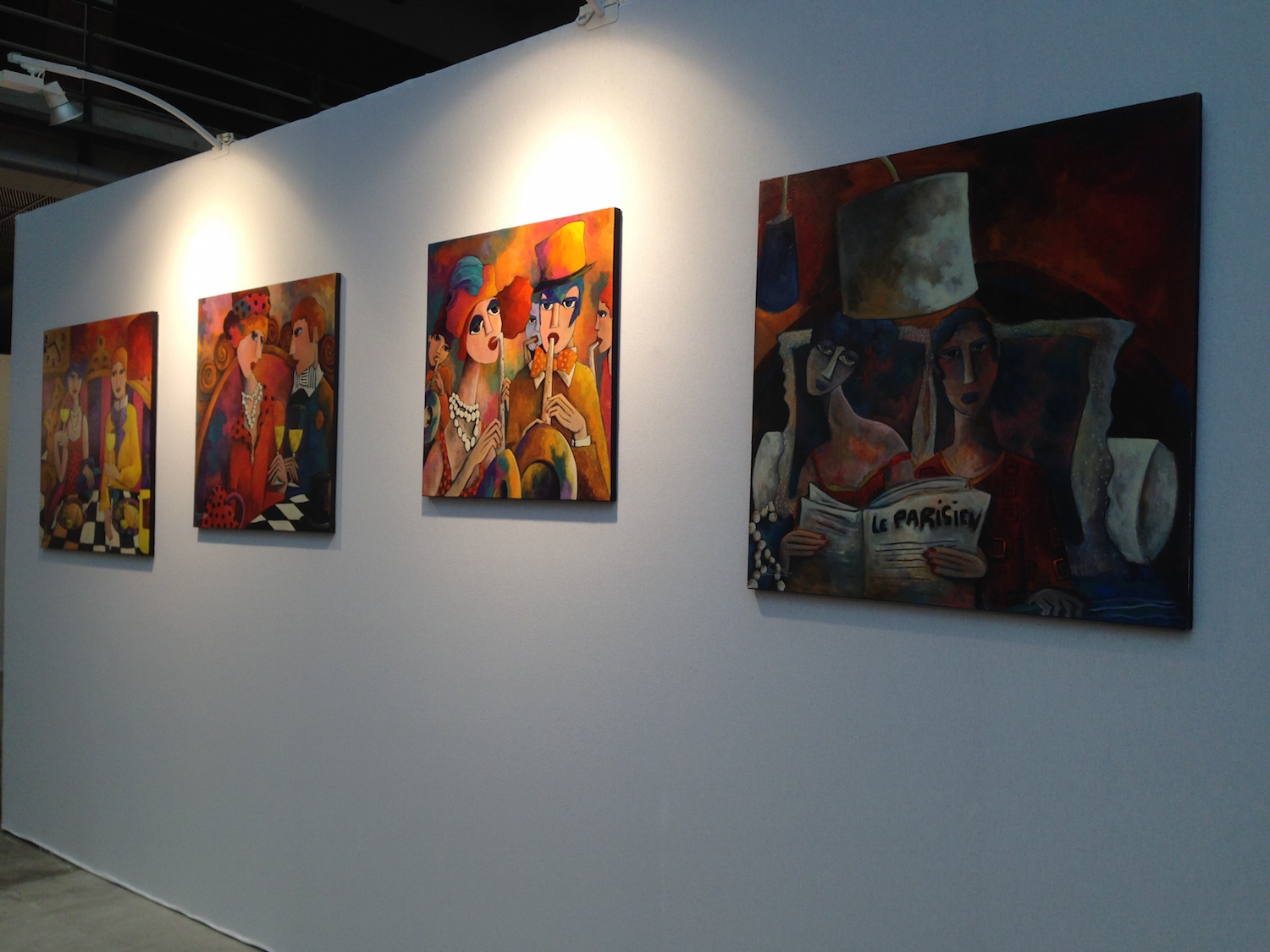 salon art3f nice 2014 artiste peintre fauve