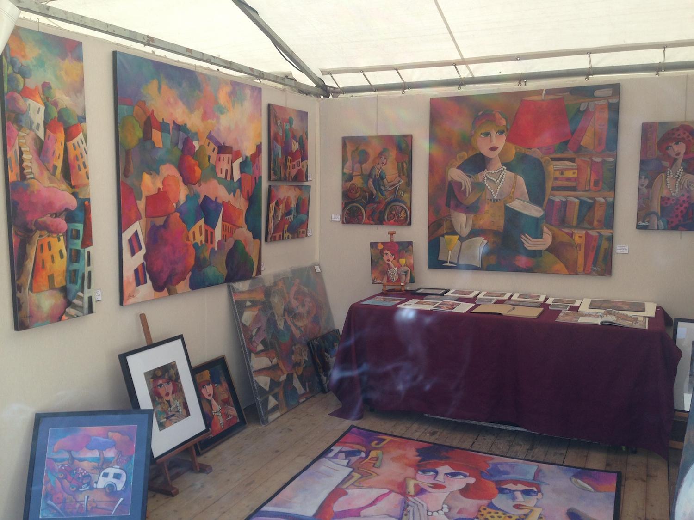 salon gmac levallois perret 2014 artiste peintre fauve