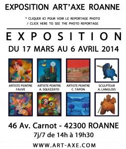 logos expos site fauve ROANNEMARS2014